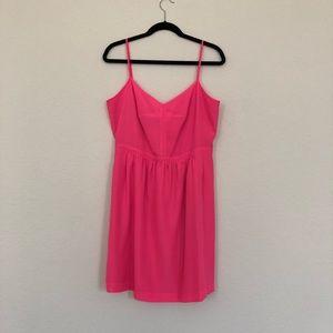 Hot Pink J Crew Summer Dress